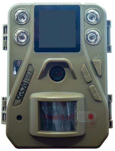 Fotopast ScoutGuard SG520 PRO 16 MPX + 16GB SD karta, baterie a doprava ZDARMA!