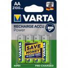 Varta 56706 R6 2100mAh NIMH basic - Nabíjecí baterie, 4 ks